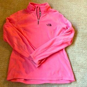North Face fleece pink